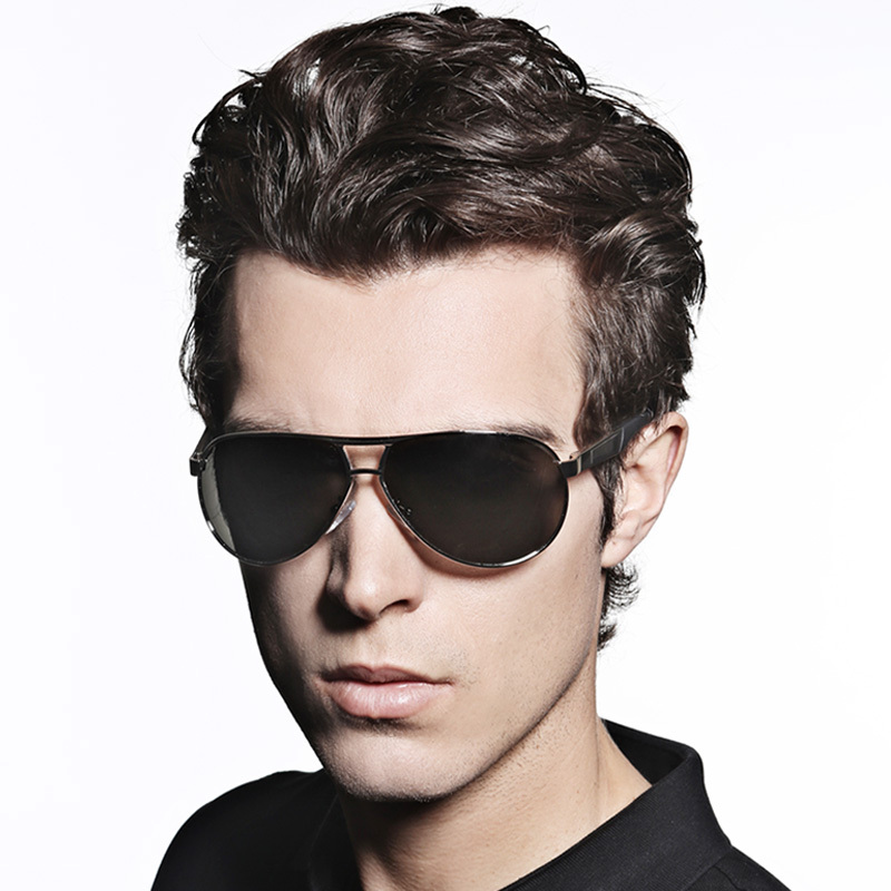 mens fashion glasses  Hot 2016 Fashion Men\u0027s UV400 Polarized coating Sunglasses men ...