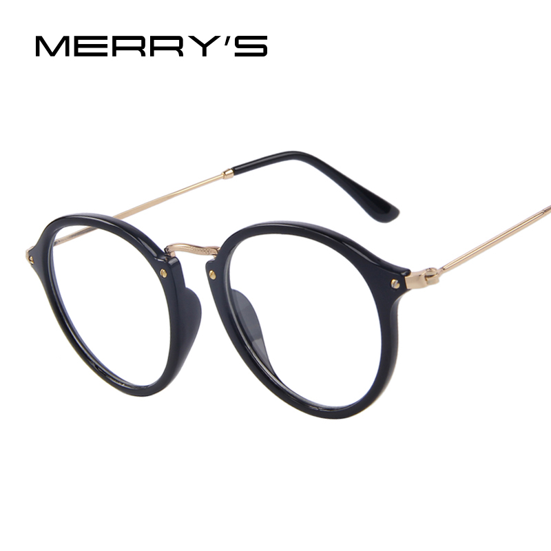 MERRY S Fashion Women Clear Lens Eyewear Unisex Retro ...