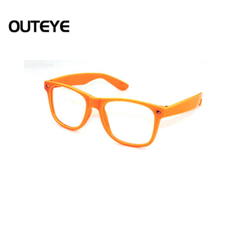 Nerd Glasses Without Frame : Outeye candy clear lens eyewear lens glasses frame nerd ...